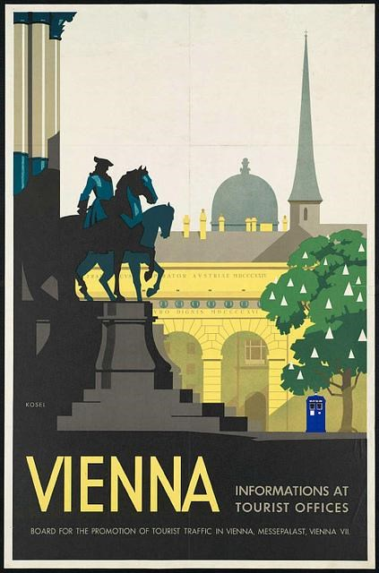 TARDIS Travel Posters of the Day