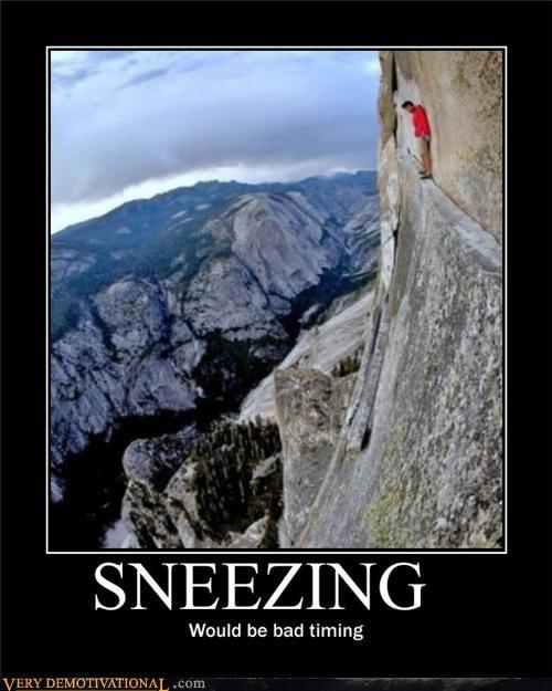 cliff,dangerous,sneezing,Terrifying,wtf