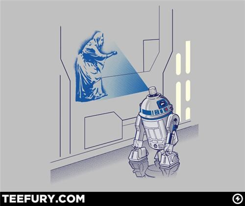 R2-D2 Tee of the Day