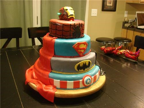 Superhero Birthday Cake of the Day