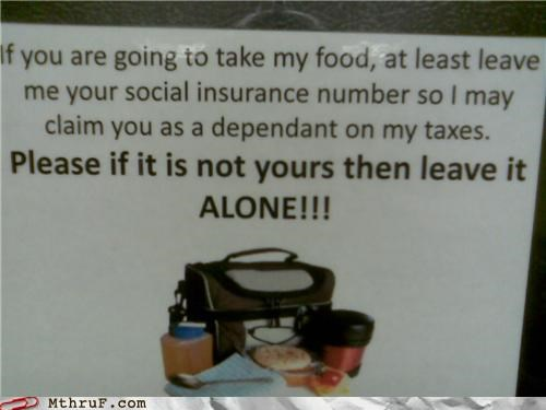breakroom,sign,taxes,theft