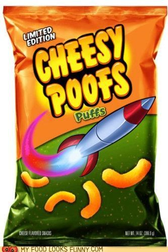 No Kitty, MY Cheesy Poofs!