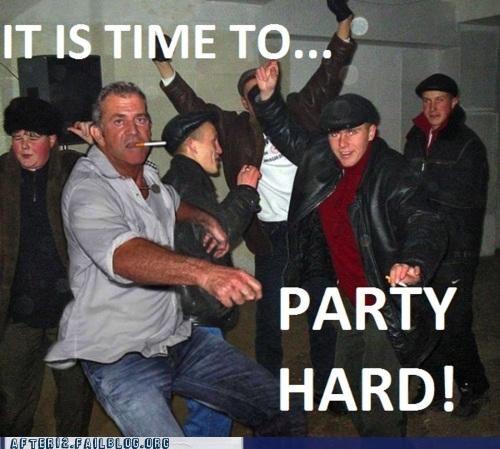 celeb,mel gibson,Party,smoking