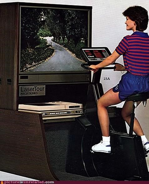 bicycle,exercise,outdoors,television,wtf