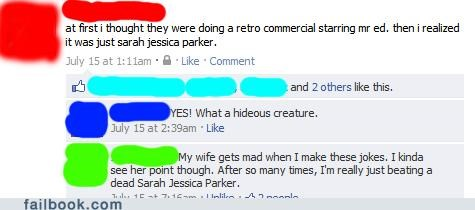 horse,sarah jessica parker,witty reply