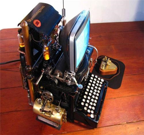 Steampunk Mac of the Day