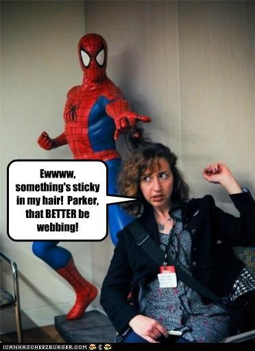 Parker! That BETTER Be Webbing!
