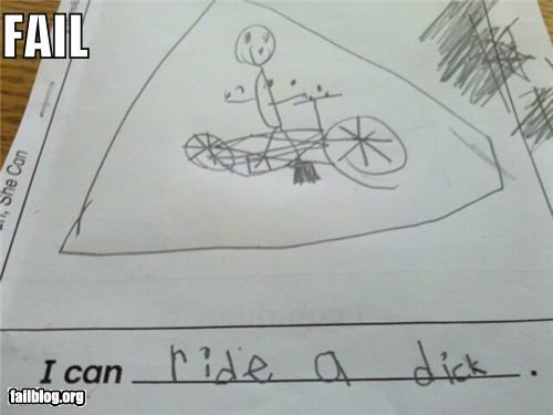 Children's Homework FAIL