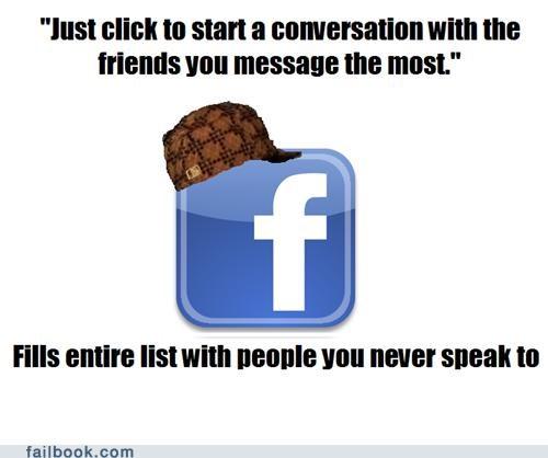 facebook,friends list,meme,scumbag