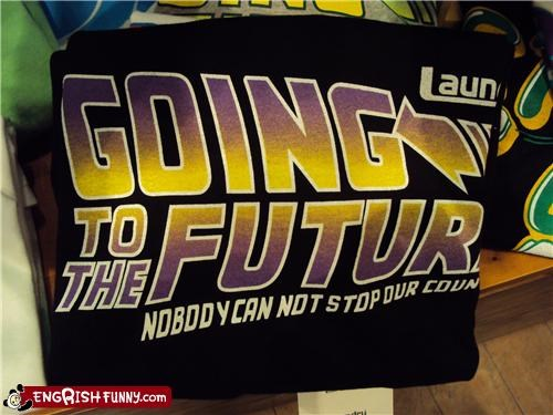 The Engrish of Film Studio Giving You: The Future Movie