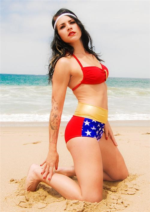 Wonder Woman Swimsuit of the Day