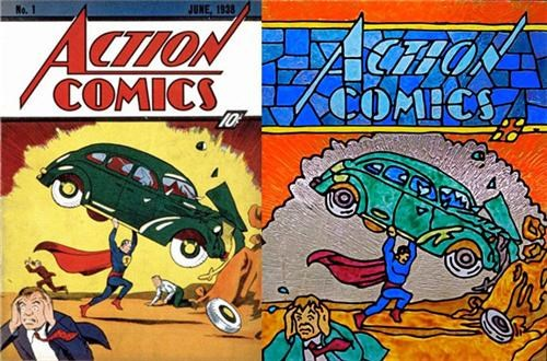 Stained Glass Comics Covers of the Day