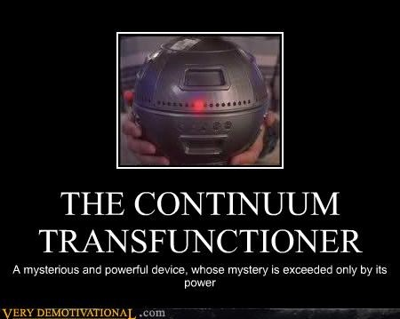 THE CONTINUUM TRANSFUNCTIONER