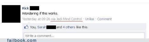 Use the Facebook, Luke!