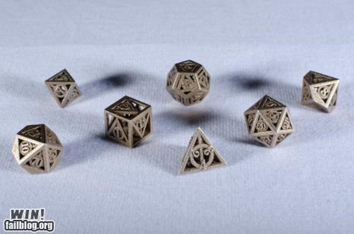 Deathly Hallows Dice Set WIN