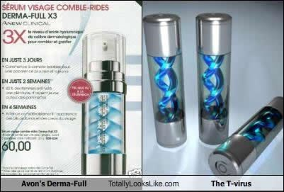 TLL Classics: Avon's Derma-Full Totally Looks Like The T-Virus