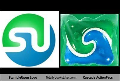 TLL Classics: StumbleUpon Logo Totally Looks Like Cascade ActionPacs