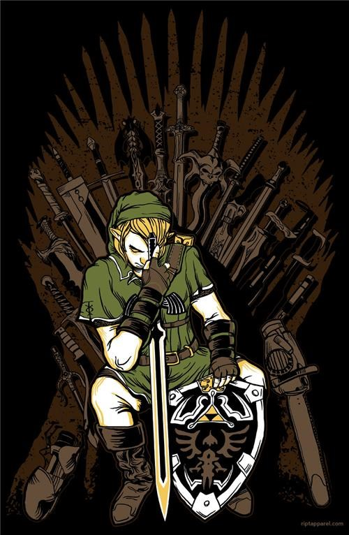 Zelda Mashup Tee of the Day