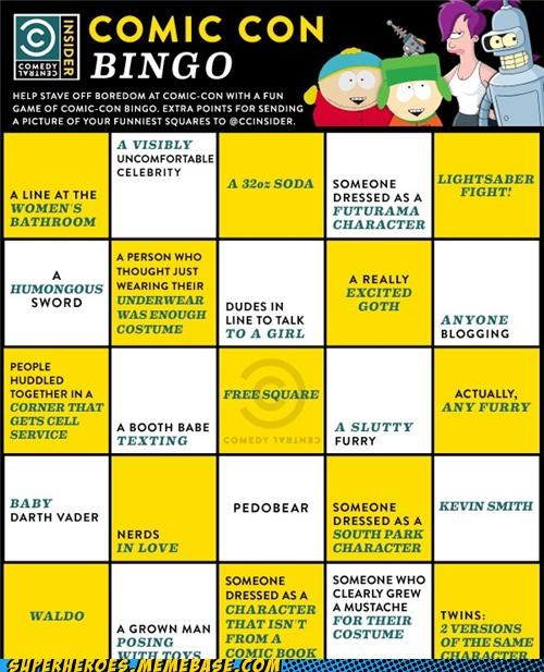 bingo,comedy central,comic con,Random Heroics,SDCC