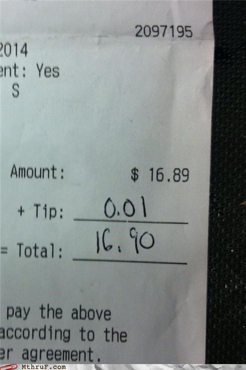 When You Told Me You'd Tip Me a Lincoln...