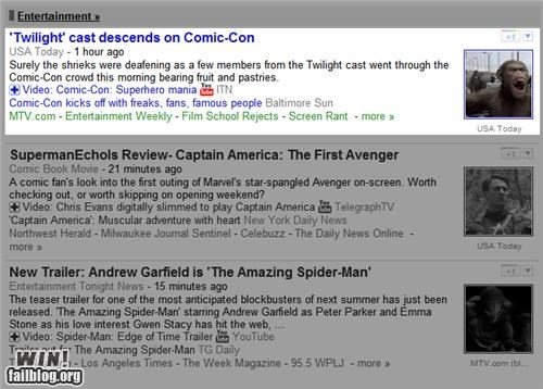 comic con,completely relevant news,picture,twilight