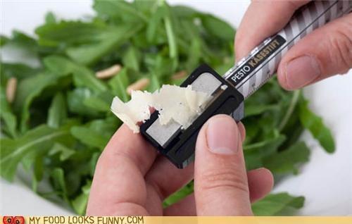 cheese,cooking,garnish,pencil,sharpener