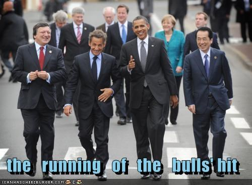 the   running   of   the   bulls' hit