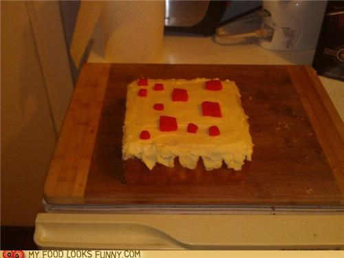 cake,minecraft,Square