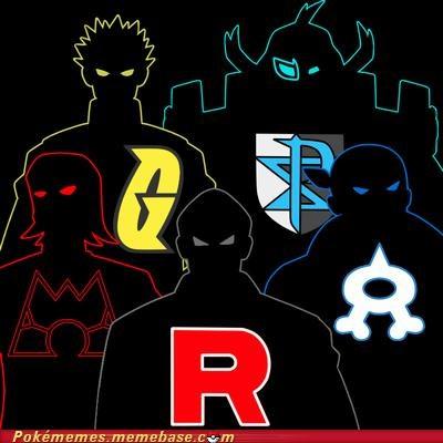 aqua,bad guy,magma,outline,plasma,Team Rocket