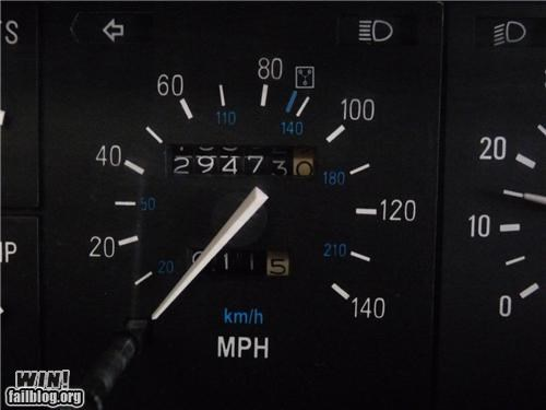 DeLorean Speedometer WIN