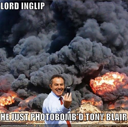 LORD INGLIP  HE JUST PHOTOBOMB'D TONY BLAIR