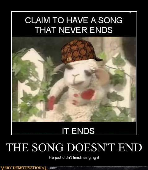 hilarious,lambchop,never ends,song