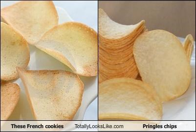 These French Cookies Totally Look Like Pringles Chips