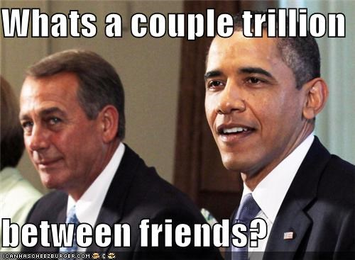 Whats a couple trillion  between friends?