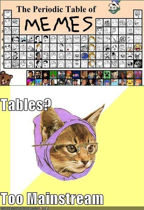 Tables? Too Mainstream