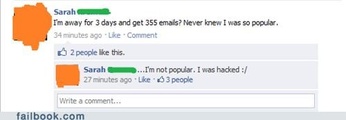 popular,hacked,unread messages