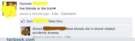 Did You Hear About the Blonde Who Died in a Car Accident?