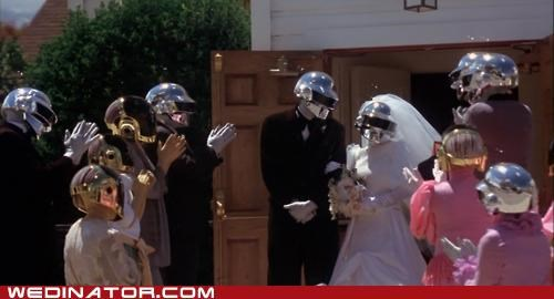 daft punk,funny wedding photos,robots