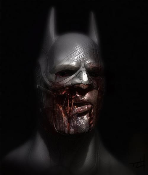 Zombie Batman of the Day