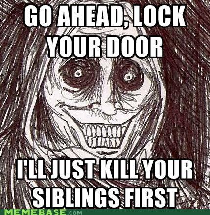 children,door,lock,siblings,The Shadowlurker,titanic,women