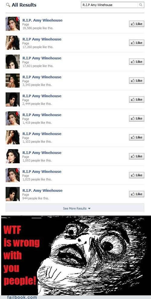 amy winehouse,facepalm,like,pages,really,rip