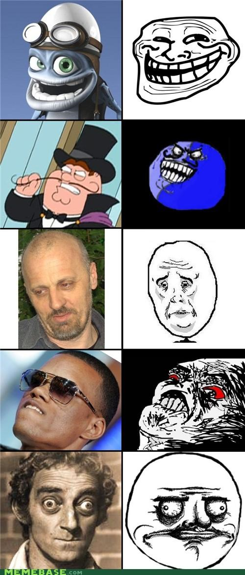 TLL Compilation: Rage Faces