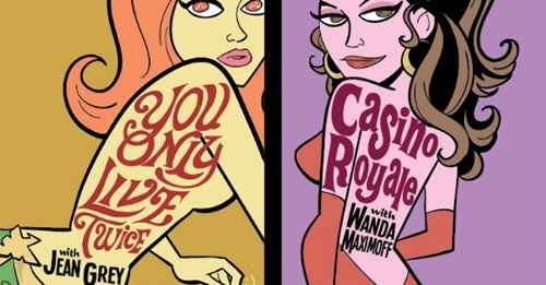 Marvel's Superheroines Become Bond Girls In This Awesome Art Series