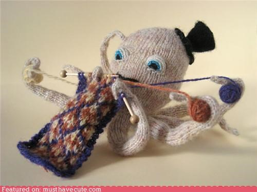 Efficient Knitting Octopus