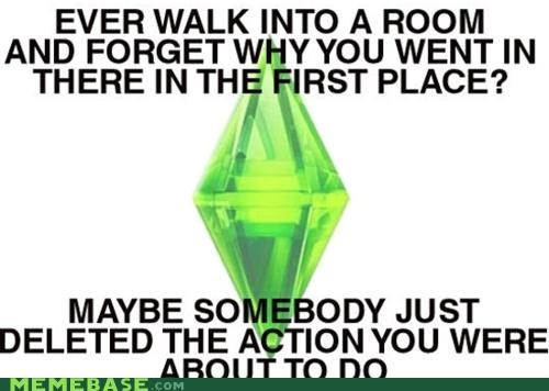 action,conspiracy,life,matrix,Sims,The Sims,video games