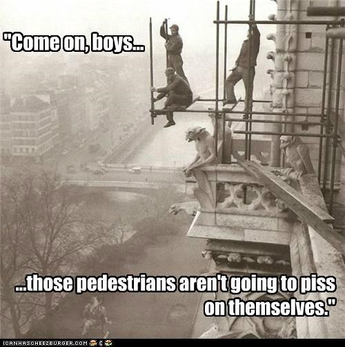 We'll Teach Those Pedestrians!