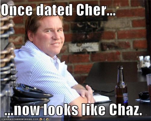 Once dated Cher...  ...now looks like Chaz.