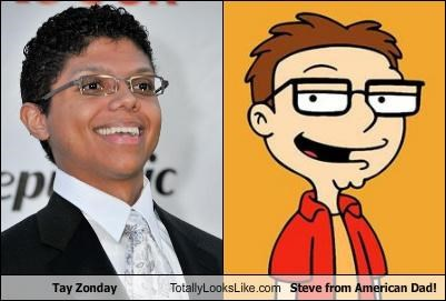 Tay Zonday Totally Looks Like Steve from American Dad!