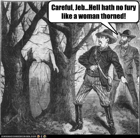 Careful, Jeb...