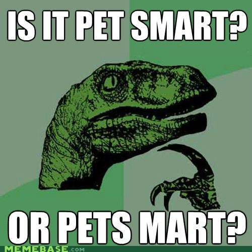 Philosoraptor: Pets Need Their Space